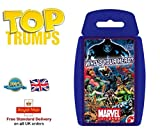 Deluxe TOP TRUMPS CARD GAMES Family Kids Fun Travel Holiday Playing Game Christmas Gift by Lizzy® (Marvel Universe)