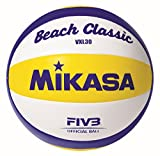Best Beach Volleyballs - Mikasa Beach Classic VXL 30 Ball, White / Review