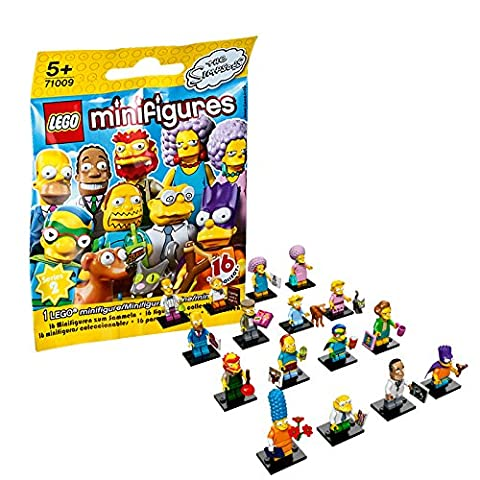 Lego – 71009 – Les Simpsons Série 2 – 1 Minifigurine – Modèle Aléatoire