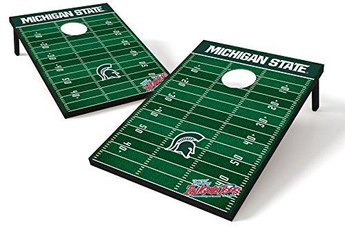 Wild Sports College Heckklappe Sitzsack Werfen Spiel, unisex Herren damen, Michigan State Spartans, 91 x 61 cm (36 x 24 Zoll)