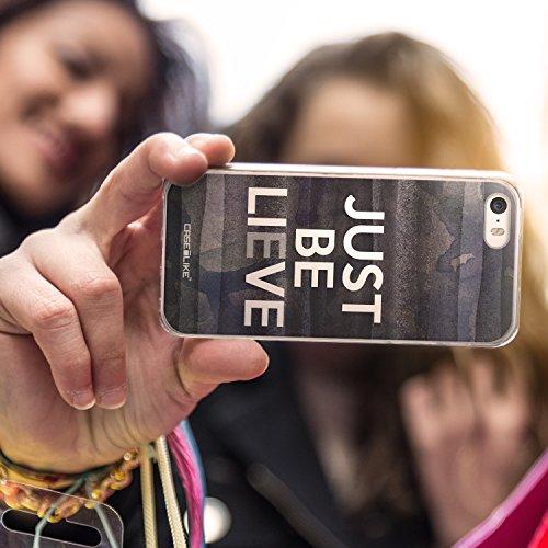 CASEiLIKE Zitat 2402 Ultra Slim Back Hart Plastik Stoßstange Hülle Cover for Apple iPhone SE +Folie Displayschutzfolie +Eingabestift Touchstift (Zufällige Farbe) 2430