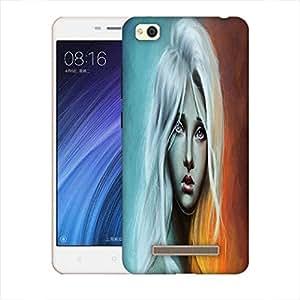 Snoogg Sad Blonde Girl 2692 Designer Protective Back Case Cover For Xiaomi Redmi 4A