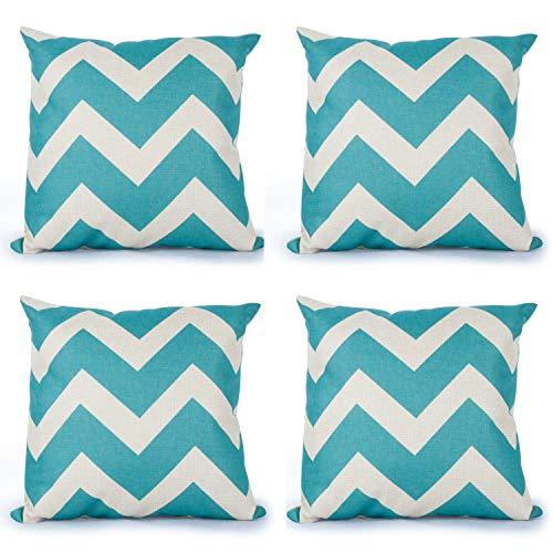 Top finel hogar geometria algodón lino cuadrado manta decorativa almohadas fundas de cojín para sala de estar.