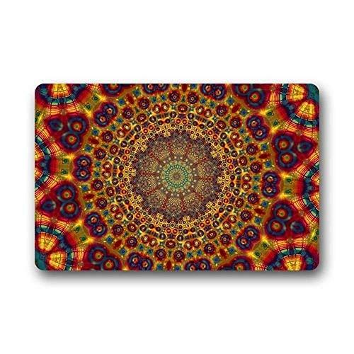 lty Design Custom Hippie Mandala Indoor/Outdoor Fußmatte 23.6 x 15.7 Inches ()