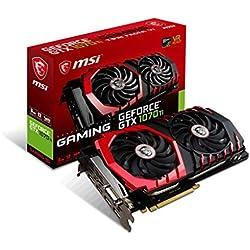 MSI GeForce GTX 1070 Ti Gaming 8G Carte Graphique Nvidia GeForce GTX 1070 Ti 1607 MHz