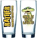 Healey's Cider Farm Cornish Rattler Cider Pint Glass