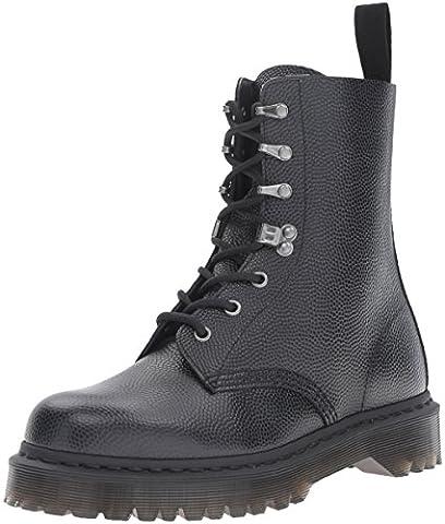 Dr.Martens Mens Para Pebble Black Leather Boots 7 UK