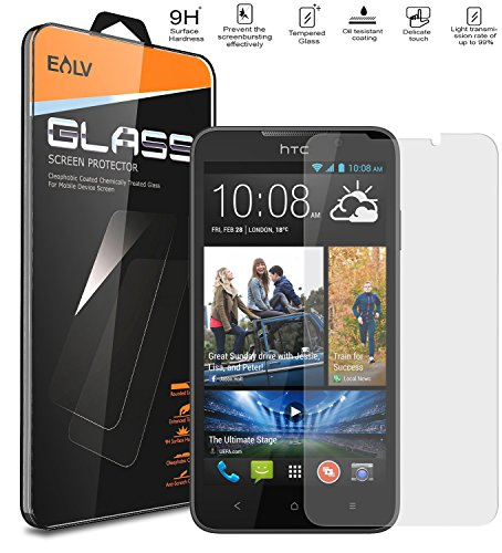 HTC 516 Screen Protector, Desire 516 Glass Screen Protector ,E LV HTC Desire 516 ANTI-SHATTER Tempered Glass Screen Protector Scratch Free Ultra Clear HD Screen Guard for HTC Desire 516.  available at amazon for Rs.289