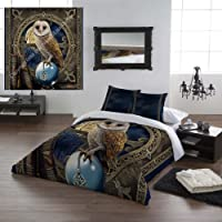 Wild Star Home Twin Bed Duvet & Pillowcase Cover set The Spell Keeper (Double 200cm x 200cm) by Wild Star@Home
