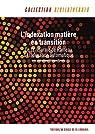 L'indexation matière en transition : de la réforme de Rameau à l'indexation automatique par Sous la Direction d'Etienne Cavalié