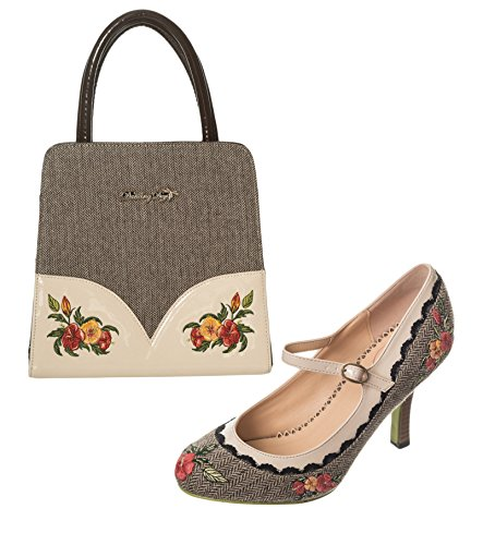 Dancing-Days-Brown-Cream-Belle-Epoque-Handbag-Girl-Loves-Me-Shoes-Set