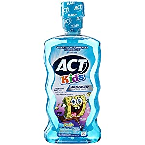 Acting Mundspülung, für Kinder, Spongebob, 1 Stück