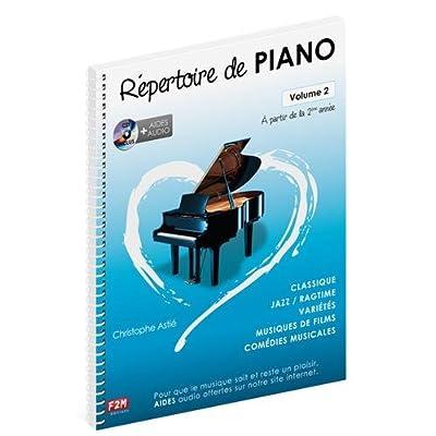 Repertoire de Piano Vol 2 + CD