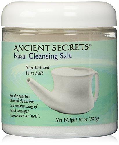 Ancient Secrets Nasal Cleansing Pot Salt 285 g by