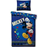 DISNEY - Parure de lit 140X200 - Mickey '100% Poly' : P.Derive , ML