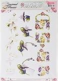 Find It Trading Precious Marieke Punchout Sheet-Seasonal Flowers Ladyslipper
