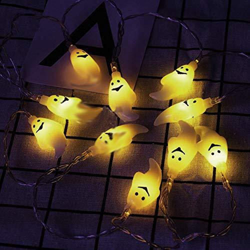 Luci Dello Spettro Di Festa Delle Luci Della Corda Dello Spettro Di Halloween, Luci principali A Colori LED A Flor Pro LE DECORAZIONI Dell 'Interno gelb gelb
