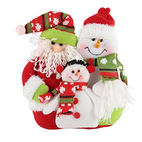 Kostüm 100 Ideen Besten (PanDaDa Weihnachtsfamilien Porträt Flanell Rag Puppe Weihnachtsmann Schneemann hängende Verzierungen WeihnachtsParty Festival Baum)