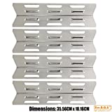Best bbq factory Gas Grills - Bar.b.q.s H93411-4pack Stainless Steel Heat Shield Replacement Review
