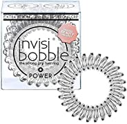 Invisibobble Power Crystal Clear, 1er Pack, (1x 3 Stück)