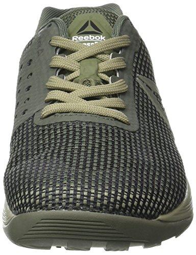 Reebok Crossfit Nano 7, Scarpe Sportive Indoor Uomo Verde (Green/khaki/black/white)