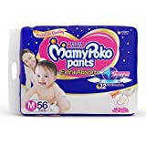 MamyPoko Pants Extra Absorb Diapers, Medium (Pack of 56)