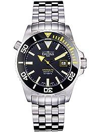 Davosa Herren-Armbanduhr Analog Edelstahl schwarz 16149870