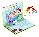 #10: COI COMBO POP UP FAIRY TALES STORY BOOK AND ICECREAM, PASTRY 3D ERASERS FOR KIDS (Little Mermaid)