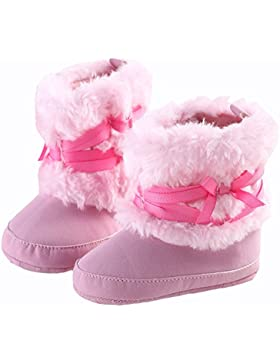 L-Peach Botitas de Nieve Cálidas de Invierno para Recién Nacido Bebé Primeros Pasos 0 a 18 Meses