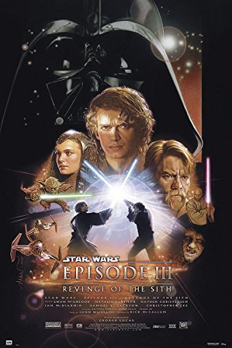 sode 3 Revenge of the Sith (61cm x 91,5cm) (Star Wars Anikin)