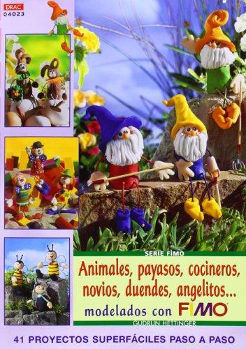 Serie Fimo nº 23. ANIMALES, PAYASOS, COCINEROS, NOVIOS, DUENDES, ANGELITOS (Cp Serie Fimo (drac))