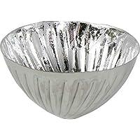 Tischdeko Teelichthalter Schwimmkerzen Schwimmschale rund Kupfer XL