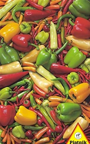 Peppers & Chillies - 1000 Piece Jigsaw Puzzle by