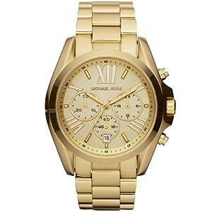 Reloj MICHAEL KORS MK5605 de cuarzo para mujer con correa de acero inoxidable, color dorado de Michael Kors