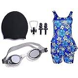 Golden Girl Swimming kit for Girls (Pink_9-10 Years)
