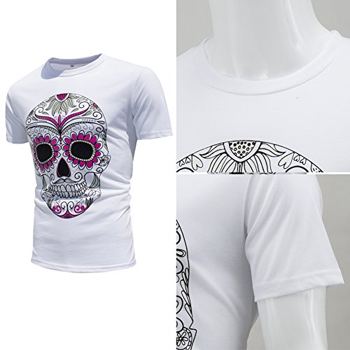 iShine camicia manica corta uomo,Cambiare il colore al sole Style 6