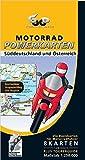 Motorrad Powerkarten Süddeutschland und Österreich 1 : 250 000. Powerbox: Plus Elsass / Vogesen. 8...