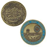 zijianZZJ - Moneda Conmemorativa, diseño de Abraham Lincoln de San Jorge