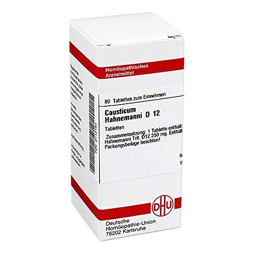 CAUSTICUM HAHNEMANNI D 12 Tabletten 80 St Tabletten