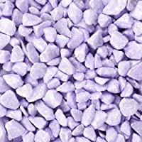 Dekosteine 9-13 mm lila aubergine 5 L Eimer EUROSAND 1L=2,79 EUR Dekokies