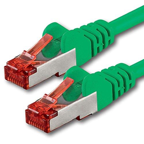 1aTTack - Cavo Patch di rete CAT 6 PIMF SSTP con doppia schermatura e 2 (Occidentale Del Metallo Di Arte)