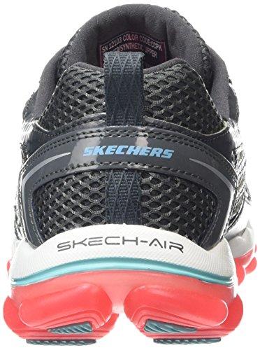 Skechers - Skech-air 2.0 - Clear Day, Scarpe sportive Donna Grigio (CCPK)