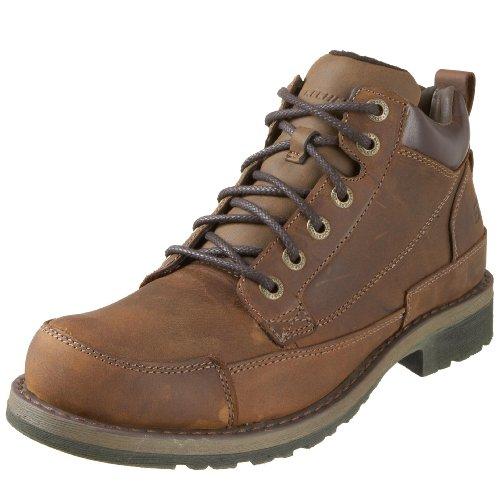 Skechers Men's Shockwaves/Regions Shoe with Laces Brown UK 6.5