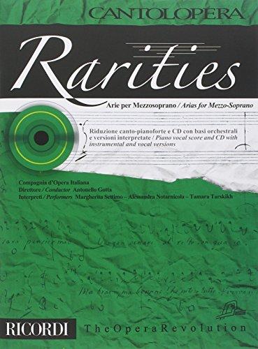 Cantolopera: Rarities - Arie Per Mezzoso...