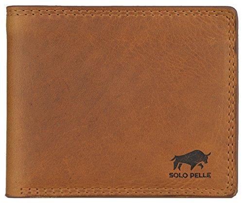 Solo Pelle Geldbörse aus weichem Leder