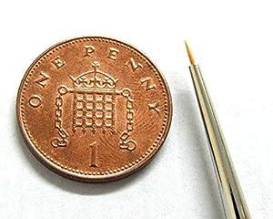 Springer Pinsel 1054-5/0 - Pincel para Pintura de Acuarela con Punta de toray (tamaño 5/0)