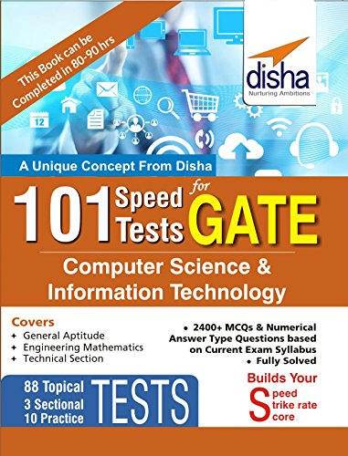 101 speed test for gate computer science information technology 101 speed test for gate computer science information technology by disha experts fandeluxe Image collections