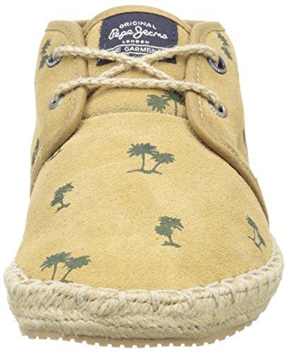 Pepe Jeans Tourist Sand, Espadrilles homme Beige (855 Camel)