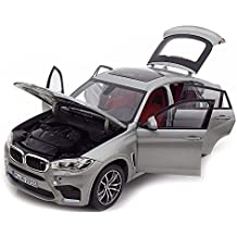 Original BMW X6 M (F86) miniatura Modelo Auto Escala 1: 18 Donington Grey