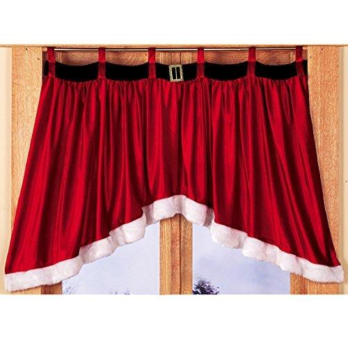 gaosaili puerta ventana Drape Panel cortina de Navidad Navidad Decoración para el hogar